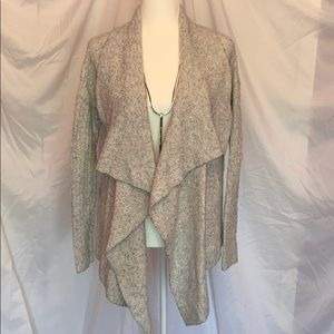 Abercrombie & Fitch light grey open cardigan